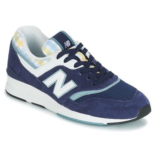 Unique New Balance WL697 Blue - Fast delivery with Spartoo Europe  DN62