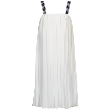 material Women Long Dresses American Retro VERO LONG White