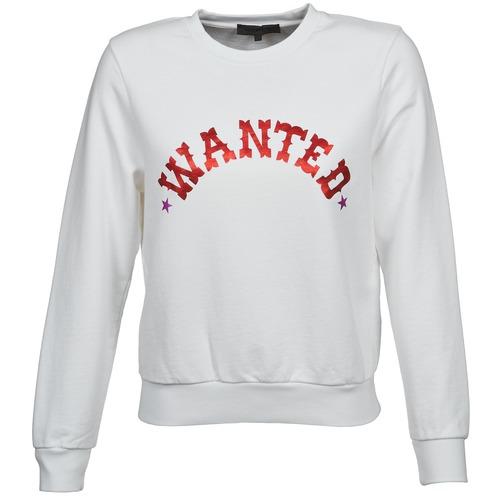 material Women sweaters American Retro MIRKO White