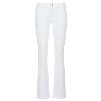 material Women bootcut jeans Moony Mood IALOLAO White