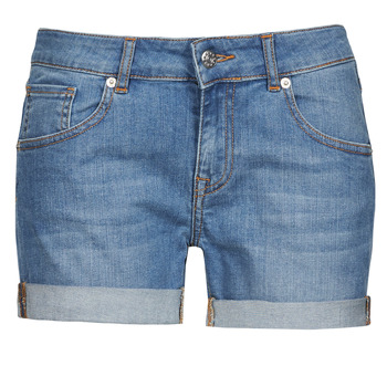 material Women Shorts / Bermudas Moony Mood INYUTE Blue / Clear