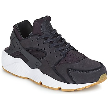 Shoes Women Low top trainers Nike AIR HUARACHE RUN PREMIUM W Grey