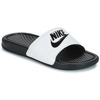 Shoes Men Tap-dancing Nike BENASSI JUST DO IT White / Black