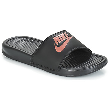 Shoes Women Sliders Nike BENASSI JUST DO IT W Black / Gold