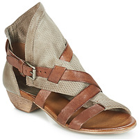 Shoes Women Sandals Dream in Green BIVIO Taupe