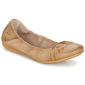 Shoes Women Ballerinas Dream in Green TAVERNI Beige
