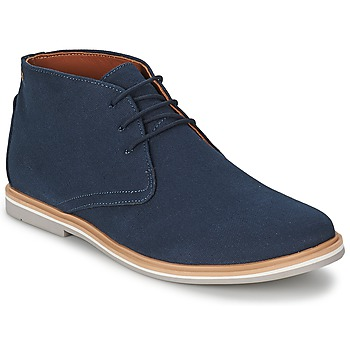 Shoes Men Mid boots Frank Wright BARROW Navy / Canvas
