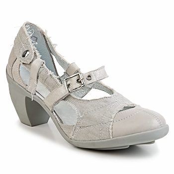 Shoes Women Court shoes Pataugas FLORA Grey