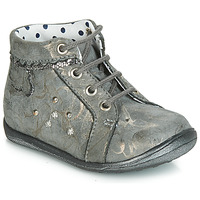 Shoes Girl High top trainers Catimini FANETTE Grey
