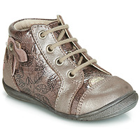 Shoes Girl High top trainers GBB NICOLE Pink / Gold