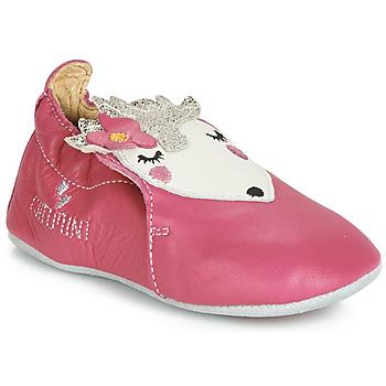 Shoes Girl Baby slippers Catimini HERISSETTE Vte / Pink