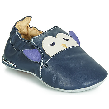 Shoes Boy Slippers Catimini PINGOU Marine / Ecru
