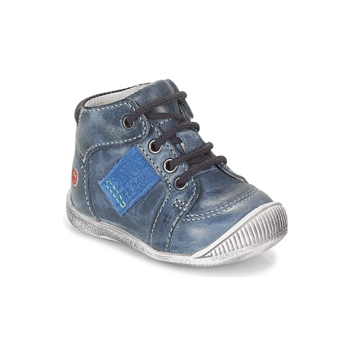 Shoes Boy High top trainers GBB RACINE Marine
