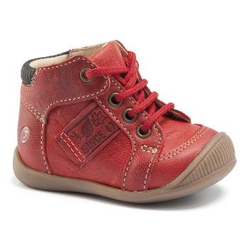 Shoes Boy High top trainers GBB RACINE Vte / Brick