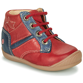 Shoes Boy High top trainers GBB RATON Red