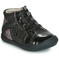 Shoes Girl High top trainers GBB ROSETTA Black / Silver