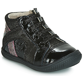 Shoes Girl Low top trainers GBB ROSETTA Vtv / Black disco