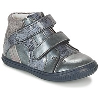Shoes Girl High top trainers GBB ROXANE Blue / Grey