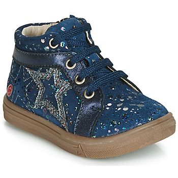 Shoes Girl High top trainers GBB NAVETTE Vte / Navy spots