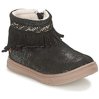 Shoes Girl Mid boots GBB NEFFLE Black / Disco