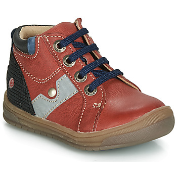 Shoes Boy High top trainers GBB RENOLD Red