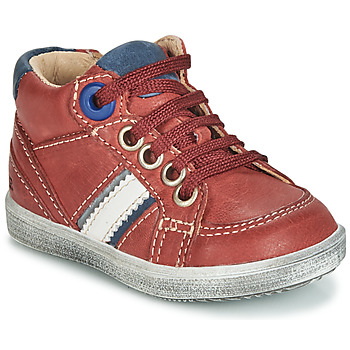 Shoes Boy High top trainers GBB ANGELITO Bordeaux