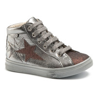 Shoes Girl High top trainers GBB MARTA Vts / Bronze