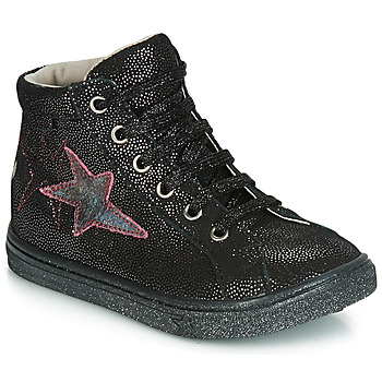 Shoes Girl High top trainers GBB MARTA Black / Silver