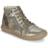 Shoes Girl High top trainers GBB RACHIDA Taupe / Bronze