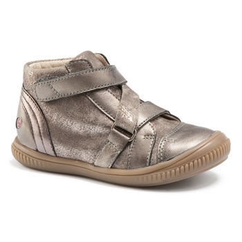 Shoes Girl High top trainers GBB RADEGONDE Vtc / Taupe
