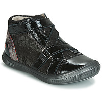 Shoes Girl High top trainers GBB RADEGONDE Black / Silver