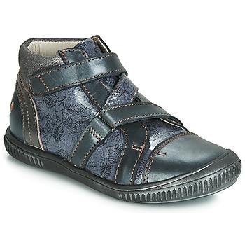 Shoes Girl High top trainers GBB RADEGONDE Vtv / Blue / Grey