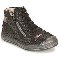 Shoes Girl High top trainers GBB DESTINY Vte / Black disco