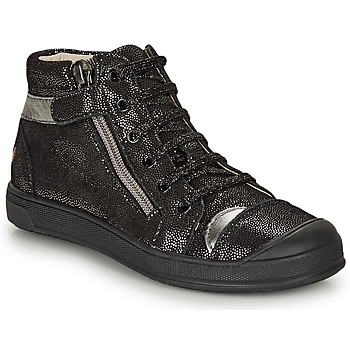 Shoes Girl High top trainers GBB DESTINY Black / Silver
