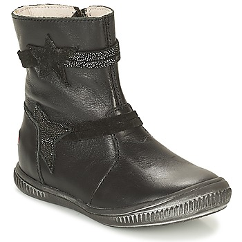 Shoes Girl Mid boots GBB NOTTE Black