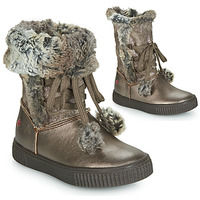Shoes Girl Boots GBB NOUSTIK Vtc / Bronze