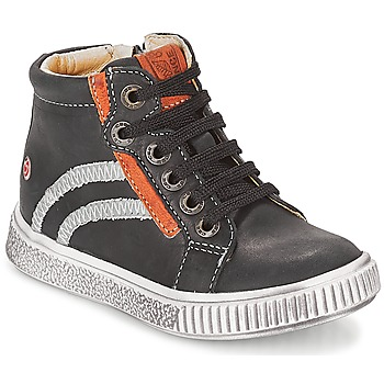 Shoes Boy High top trainers GBB NESTOR Black