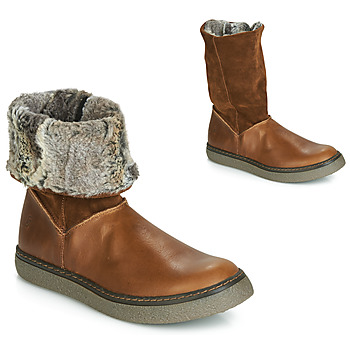 Shoes Girl Boots GBB DUBROVNIK Vtc / Brown