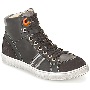 Shoes Boy High top trainers GBB ANGELO Black