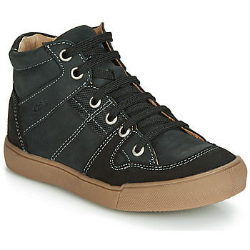 Shoes Boy High top trainers GBB NEMOON Black