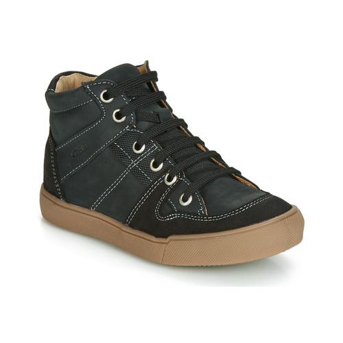 Shoes Boy High top trainers GBB NEMOON Black