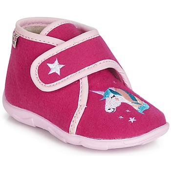 Shoes Girl Slippers GBB FEE DES BOIS Pink