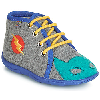Shoes Boy Slippers GBB SUPER BOYS Grey / Blue