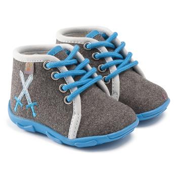 Shoes Boy Slippers GBB DAGONET Grey-blue