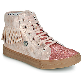 Shoes Girl High top trainers Catimini LOULOU Pink