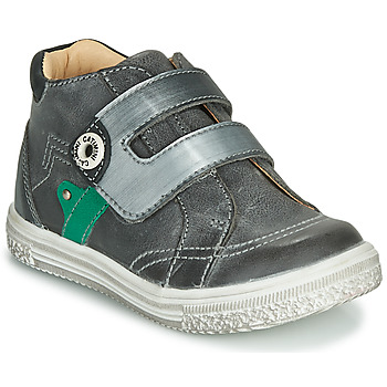 Shoes Boy High top trainers Catimini BICHOU Grey