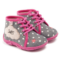 Shoes Girl Slippers GBB BUBBLE Gray pink