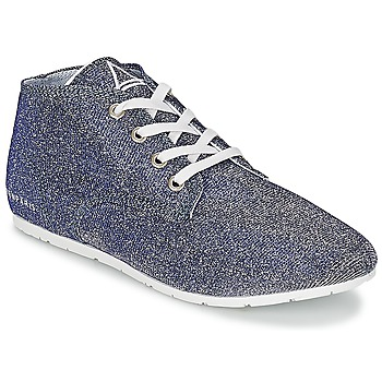 Shoes Women Low top trainers Eleven Paris BASGLITTER Silver