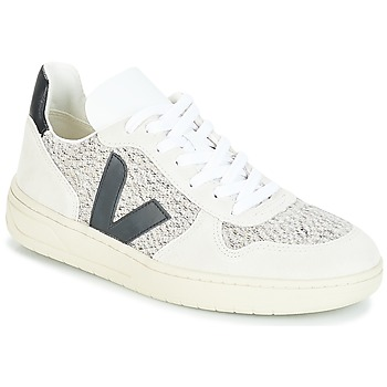 Shoes Women Low top trainers Veja V-10 White / Black
