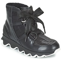 Shoes Women Snow boots Sorel KINETIC™ SHORT LACE Black